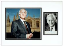 John Thaw Signed Photo Display - Inspector Morse